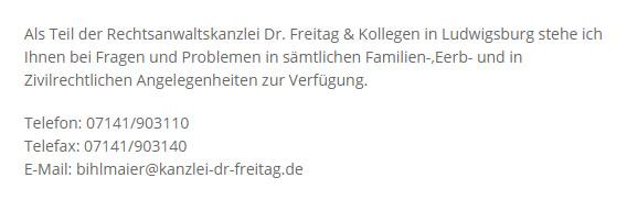 Rechtsanwaltskanzlei in  Monrepos (Ludwigsburg), Asperg, Stadt Asperg, West, Nord, Altach, Eglosheim und Favoritepark, Ölmühle, Hoheneck